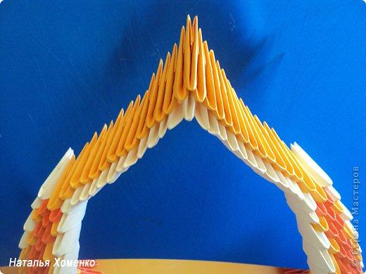 Мастер-класс Поделка изделие Оригами китайское модульное МК Апельсиновые фантазии Бумага фото 33