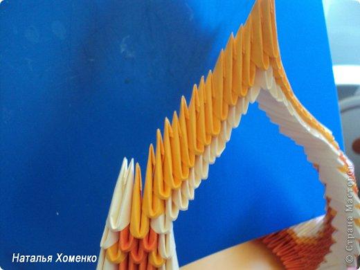 Мастер-класс Поделка изделие Оригами китайское модульное МК Апельсиновые фантазии Бумага фото 34