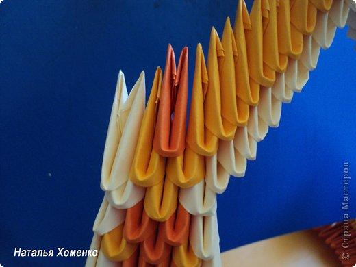 Мастер-класс Поделка изделие Оригами китайское модульное МК Апельсиновые фантазии Бумага фото 36