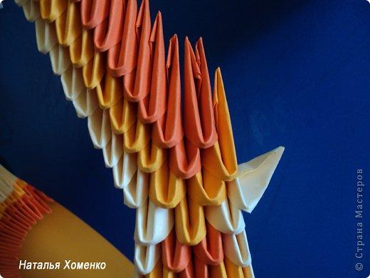 Мастер-класс Поделка изделие Оригами китайское модульное МК Апельсиновые фантазии Бумага фото 37