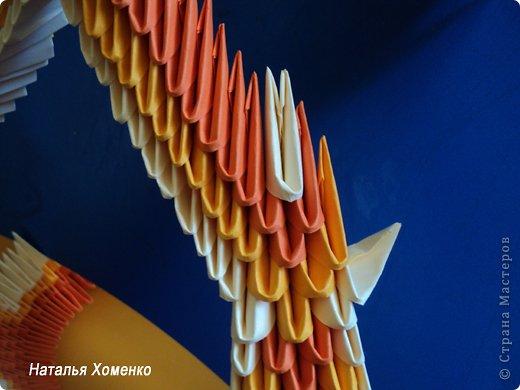 Мастер-класс Поделка изделие Оригами китайское модульное МК Апельсиновые фантазии Бумага фото 38