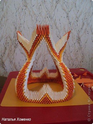 Мастер-класс Поделка изделие Оригами китайское модульное МК Апельсиновые фантазии Бумага фото 41