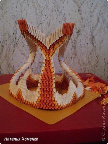 Мастер-класс Поделка изделие Оригами китайское модульное МК Апельсиновые фантазии Бумага фото 42