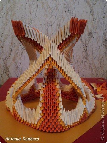 Мастер-класс Поделка изделие Оригами китайское модульное МК Апельсиновые фантазии Бумага фото 46