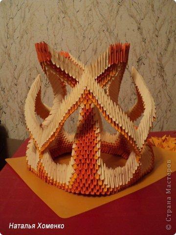 Мастер-класс Поделка изделие Оригами китайское модульное МК Апельсиновые фантазии Бумага фото 47