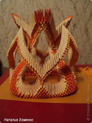 Мастер-класс Поделка изделие Оригами китайское модульное МК Апельсиновые фантазии Бумага фото 48