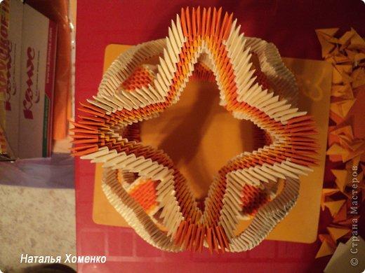 Мастер-класс Поделка изделие Оригами китайское модульное МК Апельсиновые фантазии Бумага фото 49