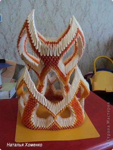 Мастер-класс Поделка изделие Оригами китайское модульное МК Апельсиновые фантазии Бумага фото 51