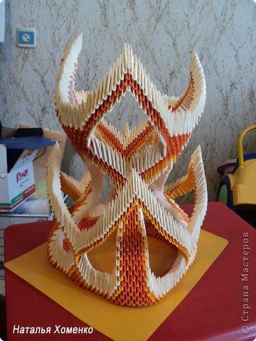 Мастер-класс Поделка изделие Оригами китайское модульное МК Апельсиновые фантазии Бумага фото 52