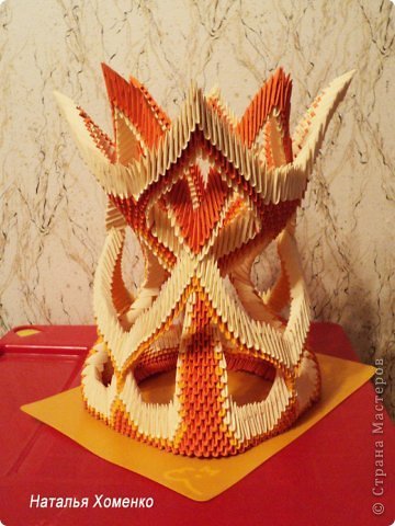 Мастер-класс Поделка изделие Оригами китайское модульное МК Апельсиновые фантазии Бумага фото 55