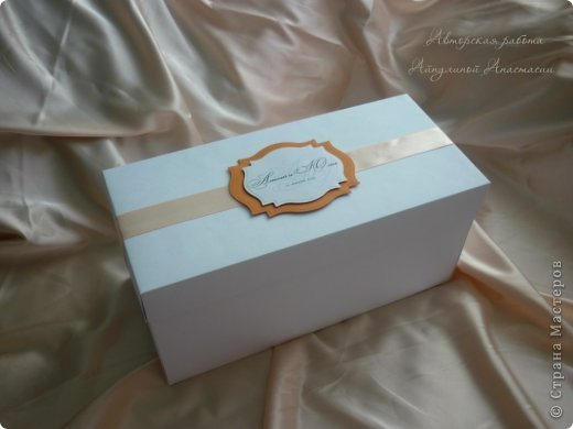 Свадебные приглашения, но не обычные, а для видео-приглашения. Это коробочки для СД дисков, на которых молодожены запишут свое приглашение. Просили в ярких тонах) фото 2