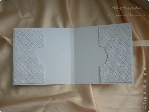 Свадебные приглашения, но не обычные, а для видео-приглашения. Это коробочки для СД дисков, на которых молодожены запишут свое приглашение. Просили в ярких тонах) фото 5