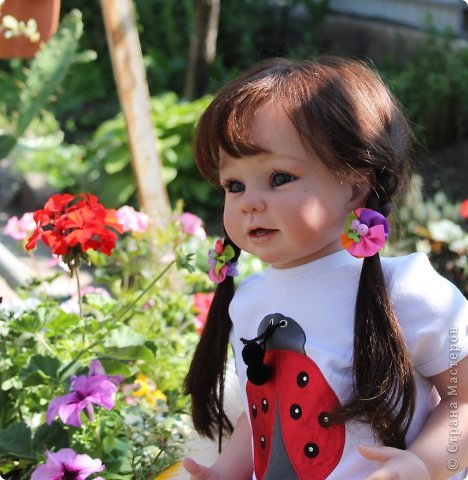 Куколка на основе Молда Бонни. фото 3
