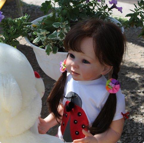 Куколка на основе Молда Бонни. фото 9