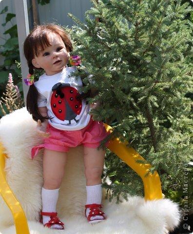 Куколка на основе Молда Бонни. фото 5