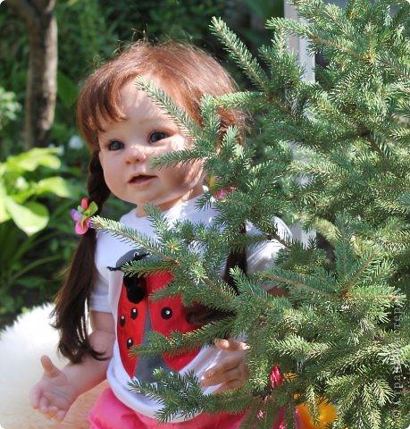 Куколка на основе Молда Бонни. фото 10