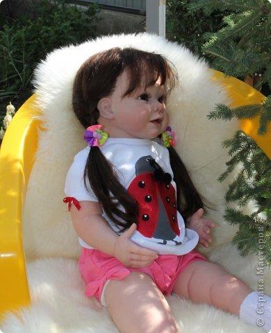 Куколка на основе Молда Бонни. фото 11