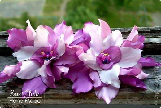 Попросили сделать цветы, чтоб украсить костюм для арабских танцев) фото 1