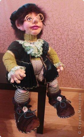 """Авторская кукла: """"Степушка"""" фото 5"""