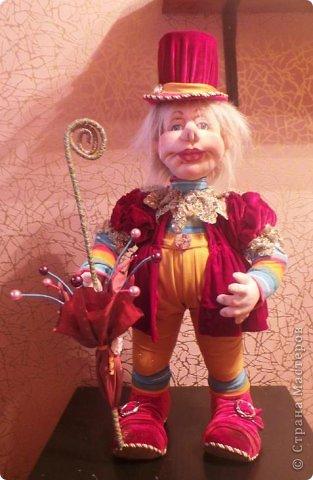 Скульптурный текстиль.Авторская кукла . фото 2