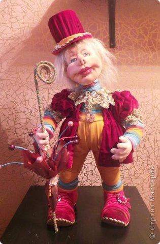 Скульптурный текстиль.Авторская кукла . фото 4