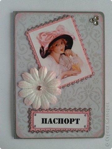 Вот моя первая обложка на паспорт фото 1
