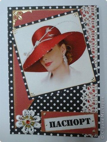 Вот моя первая обложка на паспорт фото 8