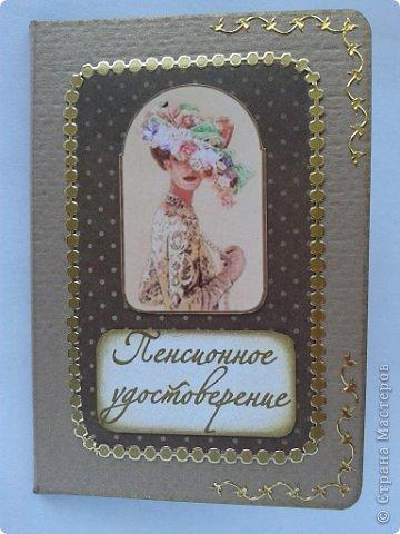 Вот моя первая обложка на паспорт фото 21