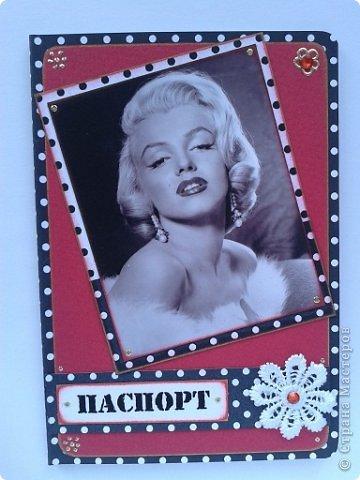 Вот моя первая обложка на паспорт фото 16