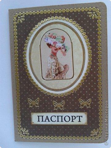 Вот моя первая обложка на паспорт фото 18
