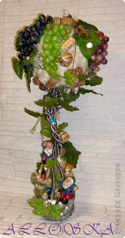 Наконец моя мечта осуществилась, я тоже вырастила виноградное деревце высотой 65 см,спасибо всем мастерам СМ за вдохновение!!!! Правда долго собирала все необходимое... фото 1