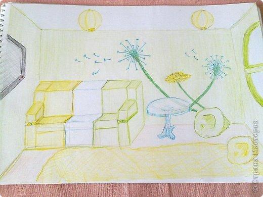 Здравствуйте, друзья!!! Меня зовут Полина, на данный момент мне 13 лет. Я очень давно не выкладывала свои работы(с 2011 года), но регулярно посещаю этот сайт. В этой записи я  покажу несколько своих работ, сделанных в 2013 году. Приятного просмотра! Итак, начнем! Этот рисунок я нарисовала у мамы на работе цветными карандашами. фото 12