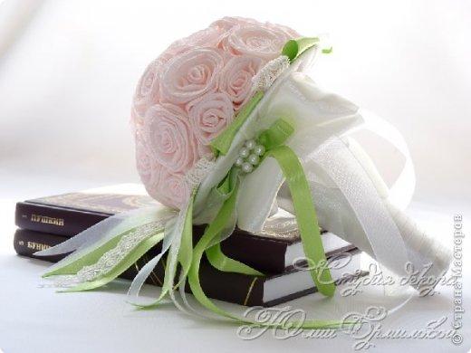 Поделка изделие Свадьба Моделирование конструирование Свадебный букет дублер своими руками Бумага гофрированная Картон Пенопласт