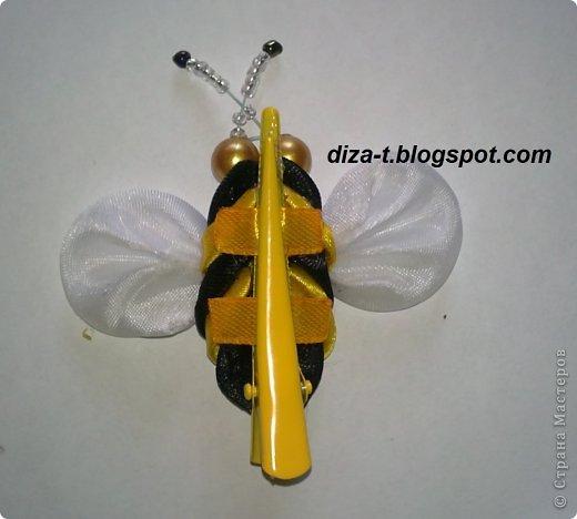 Мастер класс пчела из лент своими руками 85