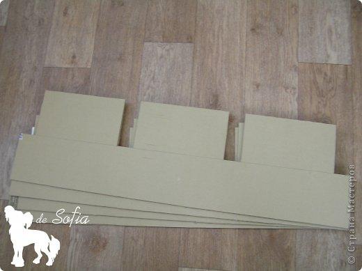 Полка из картона своими руками мастер класс выкройки 79