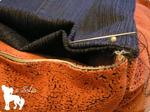 Представляю Вам мастер - класс по шитью лежака для собаки. Это очень просто и интересно. фото 17