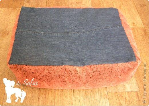 Представляю Вам мастер - класс по шитью лежака для собаки. Это очень просто и интересно.  фото 19