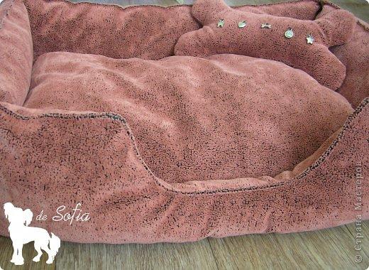 Представляю Вам мастер - класс по шитью лежака для собаки. Это очень просто и интересно.  фото 40