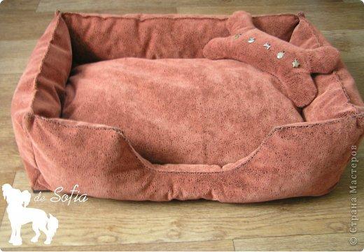Представляю Вам мастер - класс по шитью лежака для собаки. Это очень просто и интересно.  фото 41
