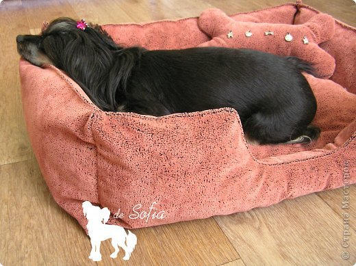 Представляю Вам мастер - класс по шитью лежака для собаки. Это очень просто и интересно. фото 46