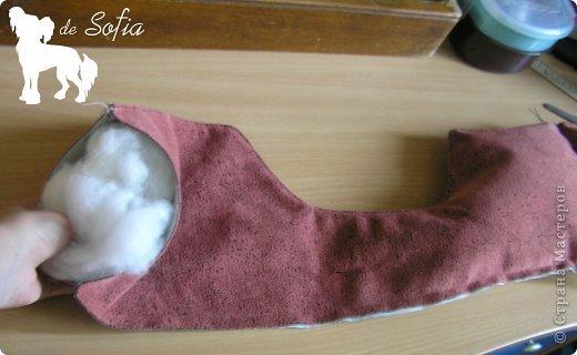 Представляю Вам мастер - класс по шитью лежака для собаки. Это очень просто и интересно.  фото 13