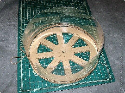 Мастер-класс Моделирование конструирование Чайное колесо Картон Клей Салфетки фото 14