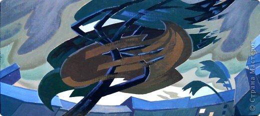 Добрый день или вечер мастера и мастерицы. Выкладываю очередные рисунки и картины В.Д. Попова. На этот раз - г. Кронштадт . Эта работа висит сейчас в музее г. Кронштадта. фото 17
