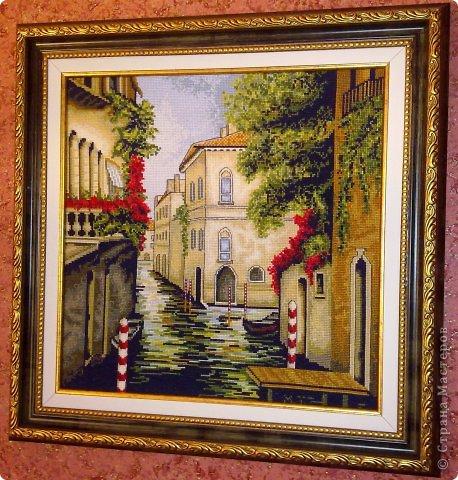 Вышивка крестом Венеция в