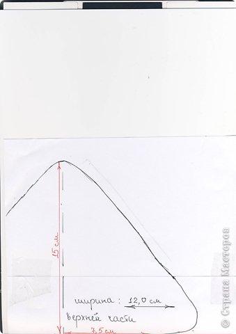Мастер-класс Поделка изделие Новый год Аппликация Новогодняя елочка из фетра Клей Ленты Нитки Фетр фото 4
