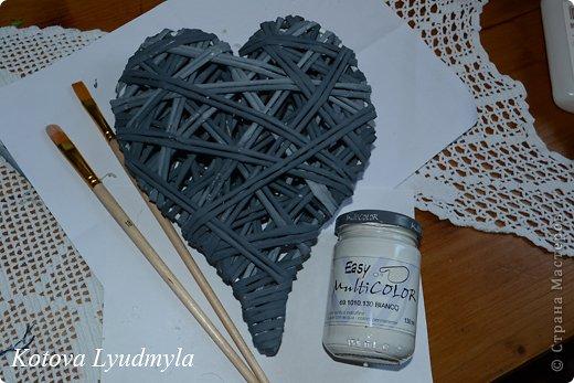 Мастер-класс Поделка изделие Новый год Аппликация Плетение Плетенные сердечки из бумажных трубочек Бумага Клей Краска Ленты Фетр фото 46