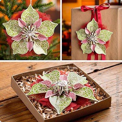 Мастер-класс Новый год Оригами Делаем объемные снежинки Бумага фото 2