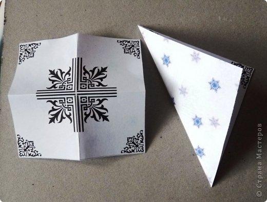 Пока мы все преображаем свои дома новогодними украшениями, хочу предложить вам сделать такие объемные «снежинки». Возможно, подобные формы уже на сайте присутствуют, значит, я предложу свою версию. фото 28
