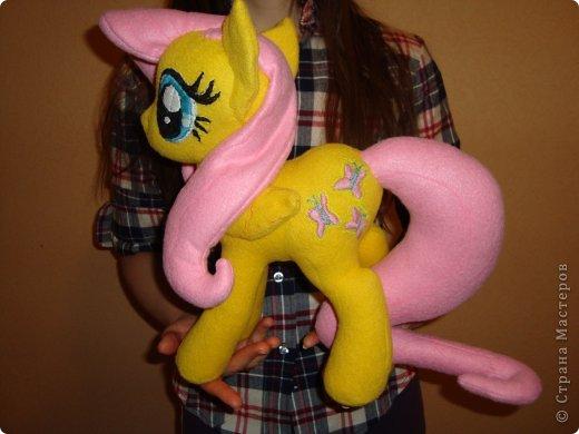 Мягкая игрушка своими руками пони