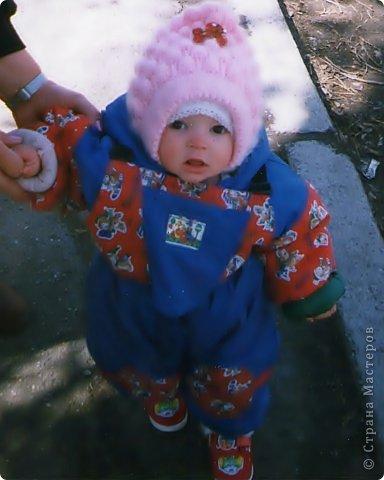 Гардероб Мастер-класс Вязание спицами Шапочка - шлем мастер-класс Пряжа фото 3